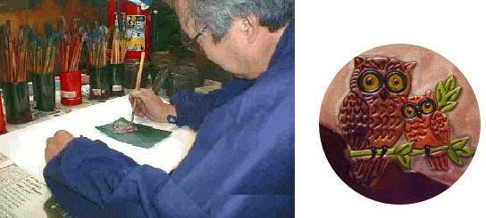 手書きふくろう 手書き一筋40年が丁寧に作り上げます