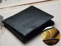 開運黒の折り財布