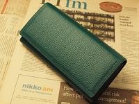 緑の財布 多機能財布